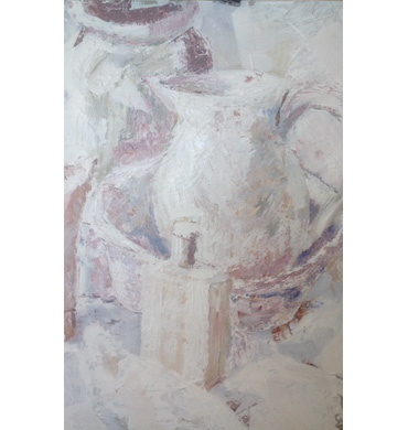 Thumbnail image of Still Life in White by Margaret Chapman
