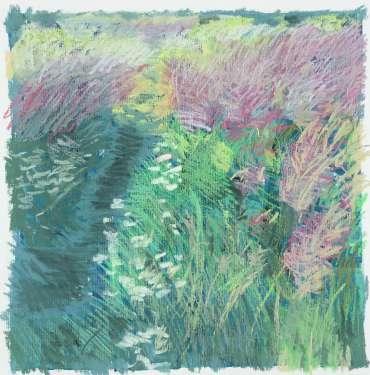 Brocks Hill Meadow 2 by Margaret Chapman