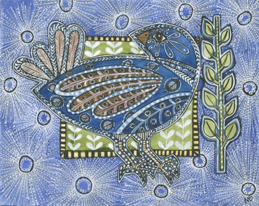Thumbnail image of Blue Bird by Maria Boyd