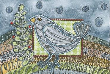 Grey Bird by Maria Boyd