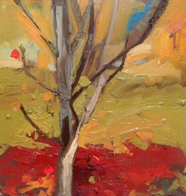 Thumbnail image of Last Leaves by Maria Collingham