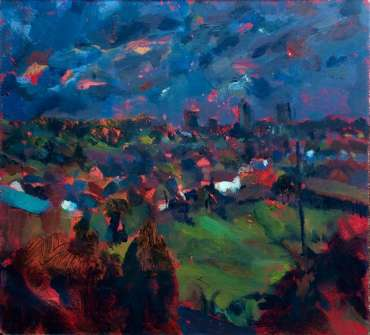 Landscape, Leicester by Maria Collingham
