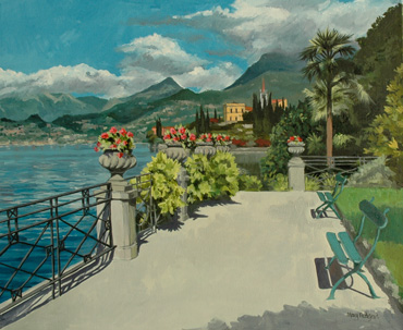 Varenna, Lake Como by Mary RODGERS