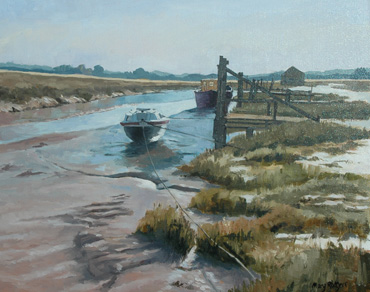 Thornham, Norfolk by Mary Rodgers