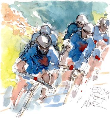 Stage 4, FDJ by Maxine Dodd