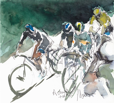 Thumbnail image of A Sharp Turn by Maxine Dodd