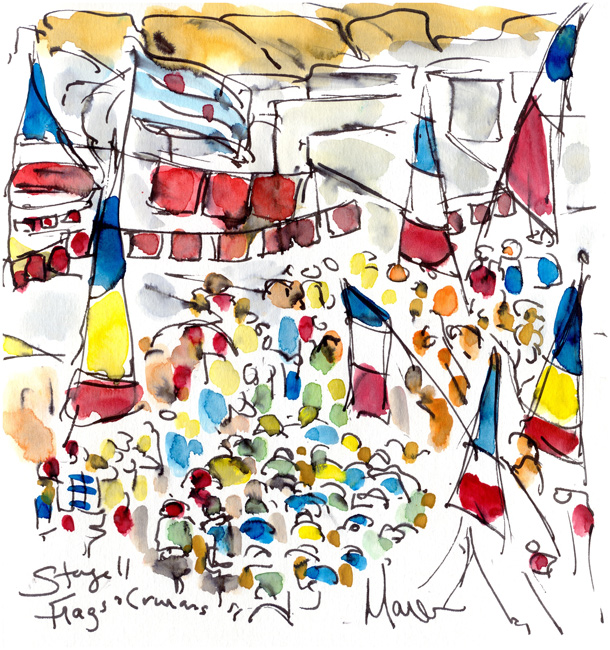 Thumbnail image of Flags and Caravans by Maxine Dodd