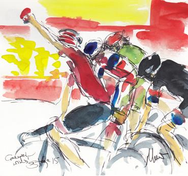 Thumbnail image of Greipel wins! by Maxine Dodd