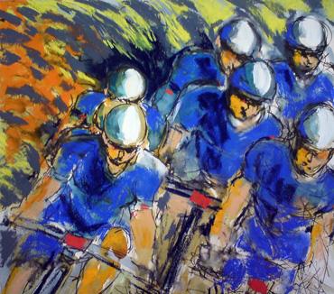 Bluespower by Maxine Dodd