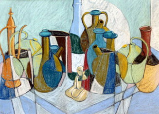 Abstract Still Life by Michael Haswell