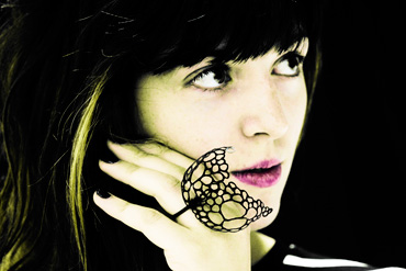 Pierced Ring by Natasha Burns