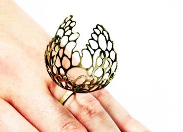 Thumbnail image of Pierced Ring by Natasha Burns