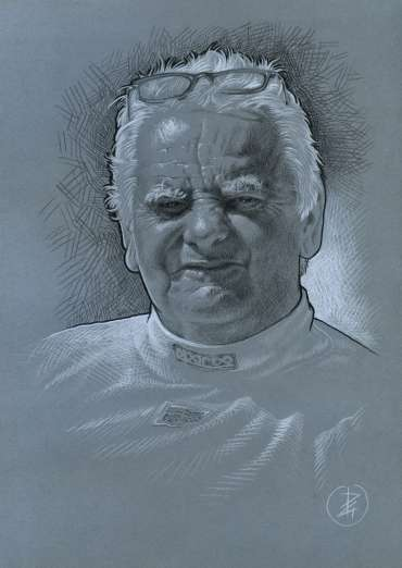 Thumbnail image of Andy Bradshaw - Study by Pete Underhill