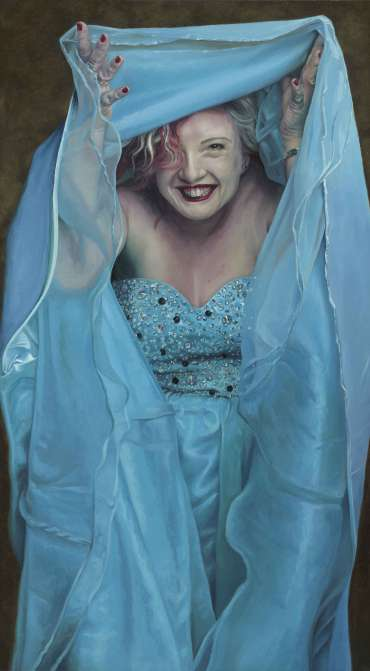 Thumbnail image of Naughty Sugar, A portrait of Hannah Matthews - 2014 by Pete Underhill
