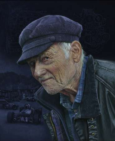 Thumbnail image of The Engine Builder, A portrait of Stuart Rolt - 2018 by Pete Underhill
