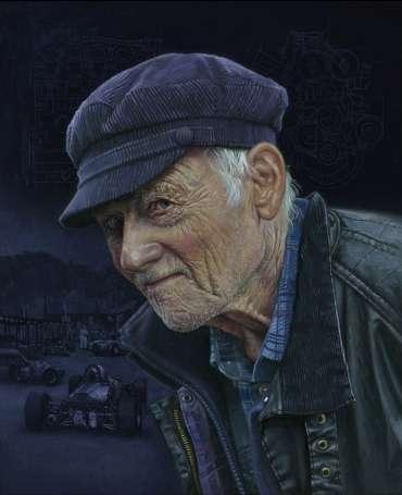 Thumbnail image of The Engine Builder, A portrait of Stuart Rolt - 2018 by Pete Underhill