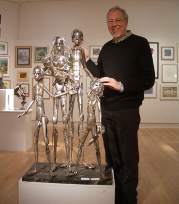 Thumbnail image of Peter Carter with 'The Family' by Peter Carter