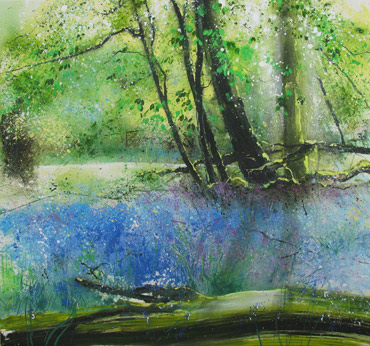Thumbnail image of Bluebell Paradise, Barnsdale Wood by Philip Dawson