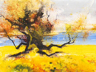 Thumbnail image of Fresh Autumn Breeze, Rutland Water by Philip Dawson