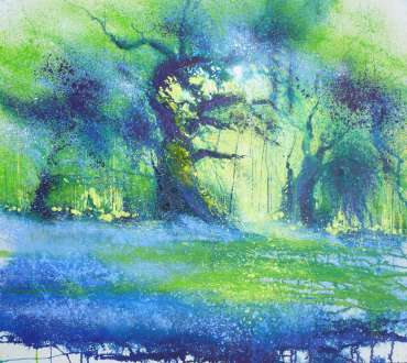 Thumbnail image of Seeing Blue, New Forest by Philip Dawson