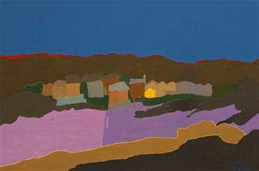 Beach Huts by Ralph Dalzell
