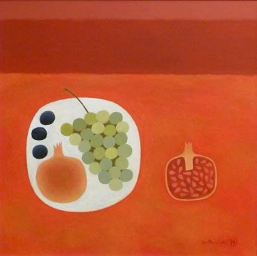 Thumbnail image of Red Still Life by Reg Cartwright
