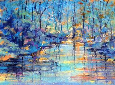 Thumbnail image of View from Stonebow Bridge by Rita Sadler