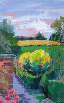Farm View by Rita Sadler