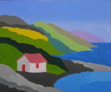 Manx Coastline by Roger Whiteway