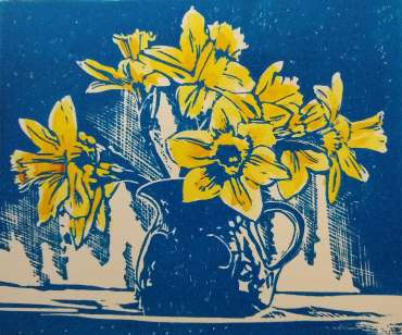 Daffodils in a Jug by Ruth Randall