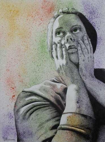 Contemplation by Sally Struszkowski