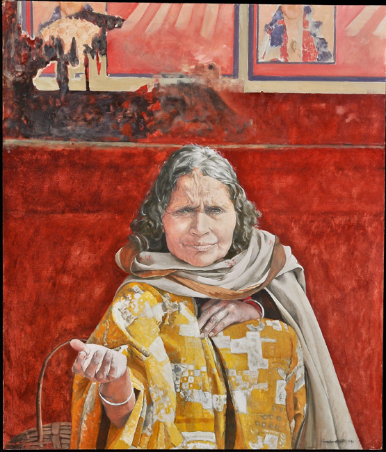 Thumbnail image of Blind Beggar - India by Sandra Mills