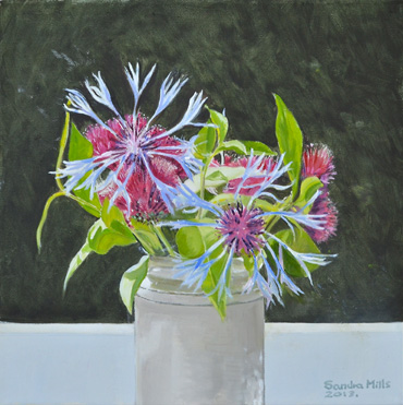 Thumbnail image of Flowers 1 by Sandra Mills