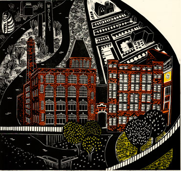 Thumbnail image of Abbey Mills and the Wolsey Building, 2012 by Sarah Kirby