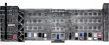 Thumbnail image of Imperial building, Leicester by Sarah Kirby