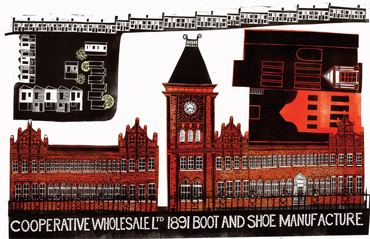 Wheatsheaf Works, Leicester by Sarah Kirby