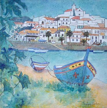 Thumbnail image of Ferragudo, Algarve by Shirley Easton
