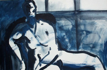 Thumbnail image of Blue Window,  2001 by Steve Wenham