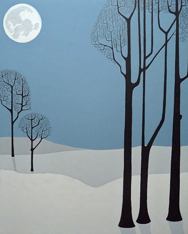 Cold Quiet of Winter by Stuart Hill
