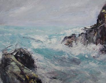 Thumbnail image of High Tide, North Cornwall by Sue Graham