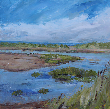 Thumbnail image of August, Tidal Inlet by Sue Graham