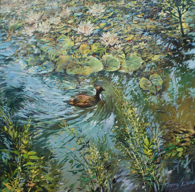 The Lily Pond by Terry Lord