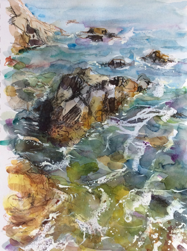 Thumbnail image of High Tide, Petit Bot, Guernsey by Toni Northcott