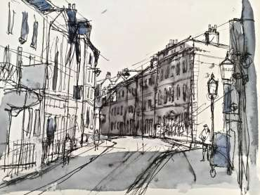 Thumbnail image of High Pavement, Nottingham by Tony O'Dwyer