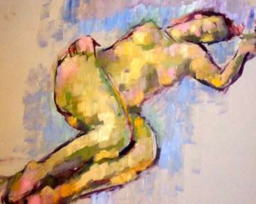 Figure Study 1 by Tony O'Dwyer