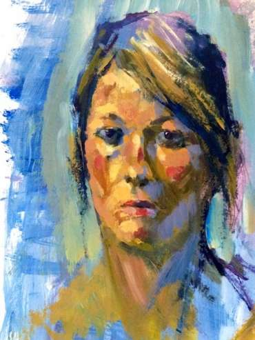 Thumbnail image of Portrait of Sian by Tony O'Dwyer