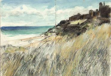 Bamburgh Castle by Vivien Blackburn