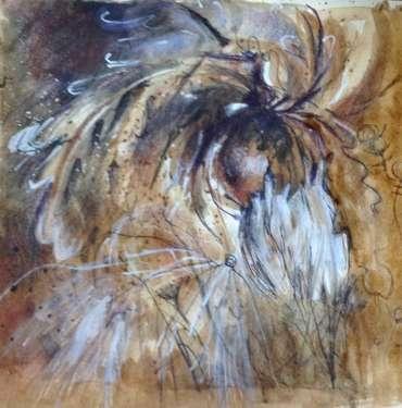Seedheads by Vivien Blackburn