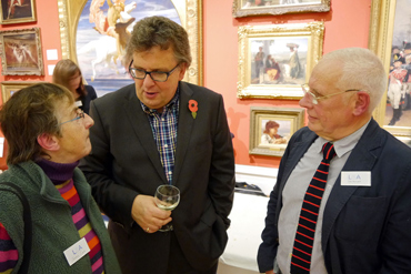 Thumbnail image of Jenny Cook, Lars Tharp, John Barradell - Preview Evening: LSA Annual Exhibition 2015