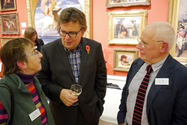 Jenny Cook, Lars Tharp, John Barradell